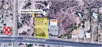 Two Pad Sites Available! (4550-4560 West Valencia Road)