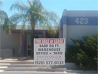 Central Tucson 6400 sqft  warehouse / office + Large Gated Yard