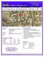Butterfield Commerce Park Lot 7