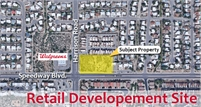 Retail Development Site - East Tucson (9575 E Speedway)